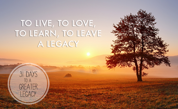 First Things First: To Live, to Love, to Learn, to Leave a ...
